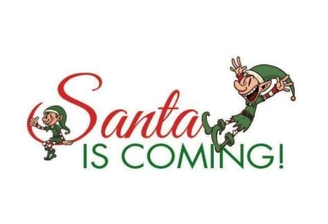 santa, pictures with santa, santa is coming