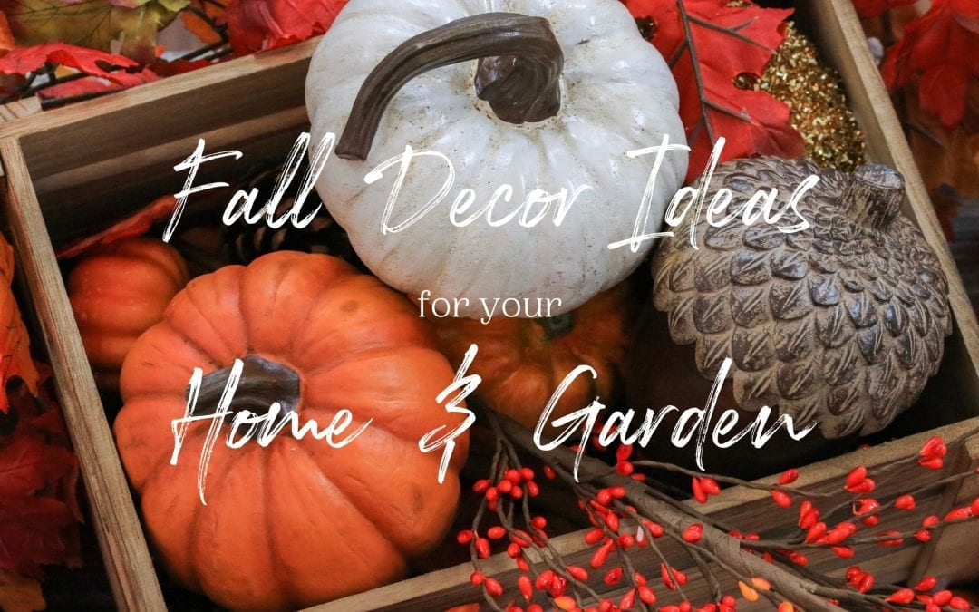 Fall Decor Ideas for Your Home & Garden