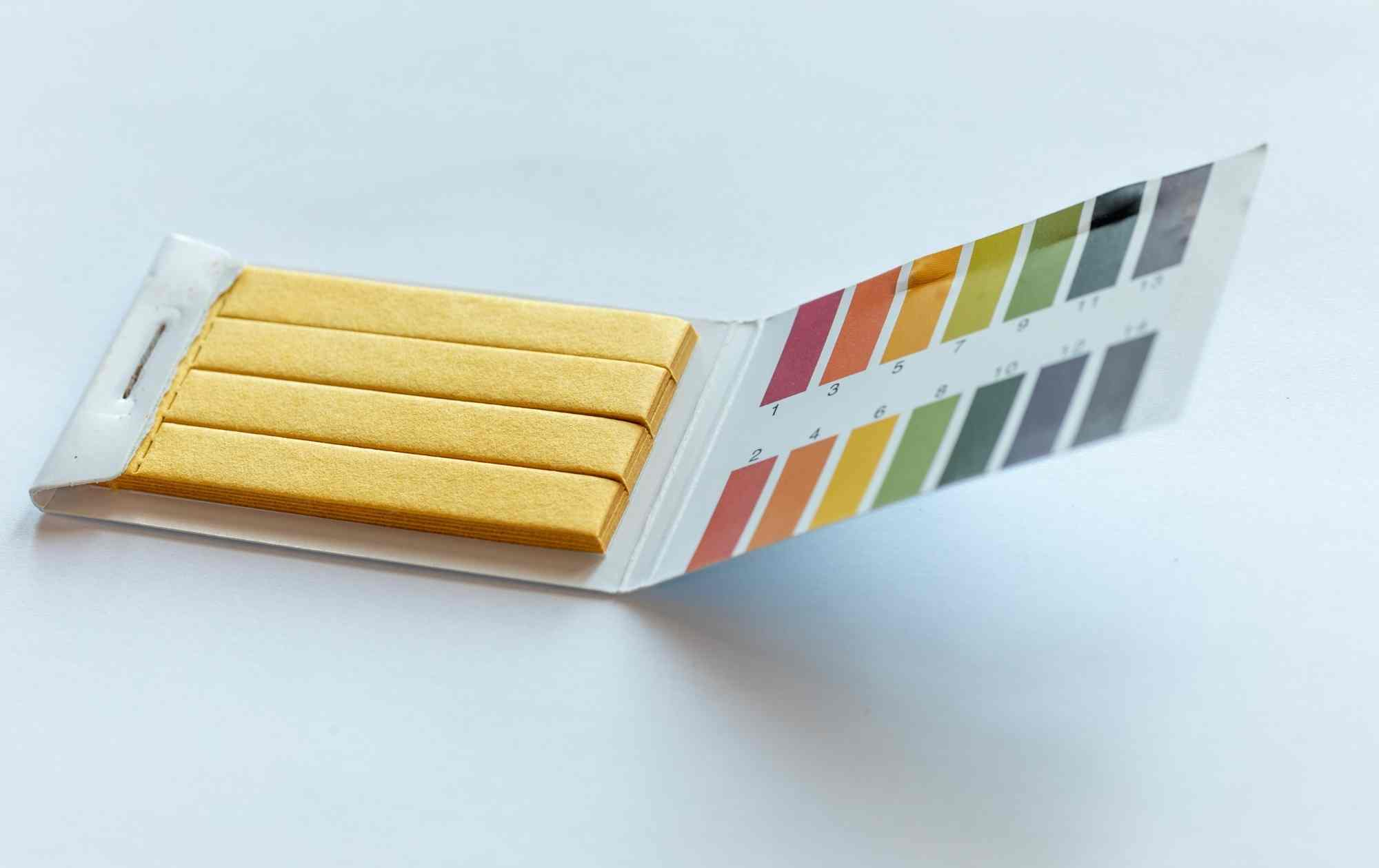 pH testing kit image