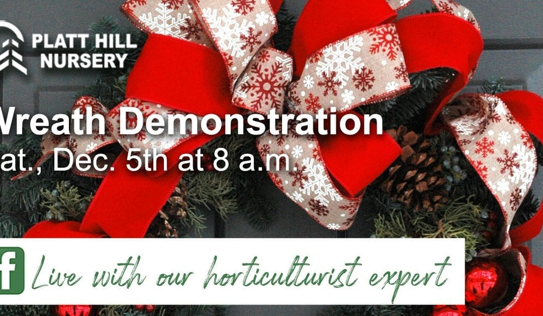 Wreath Demonstration – Facebook Live