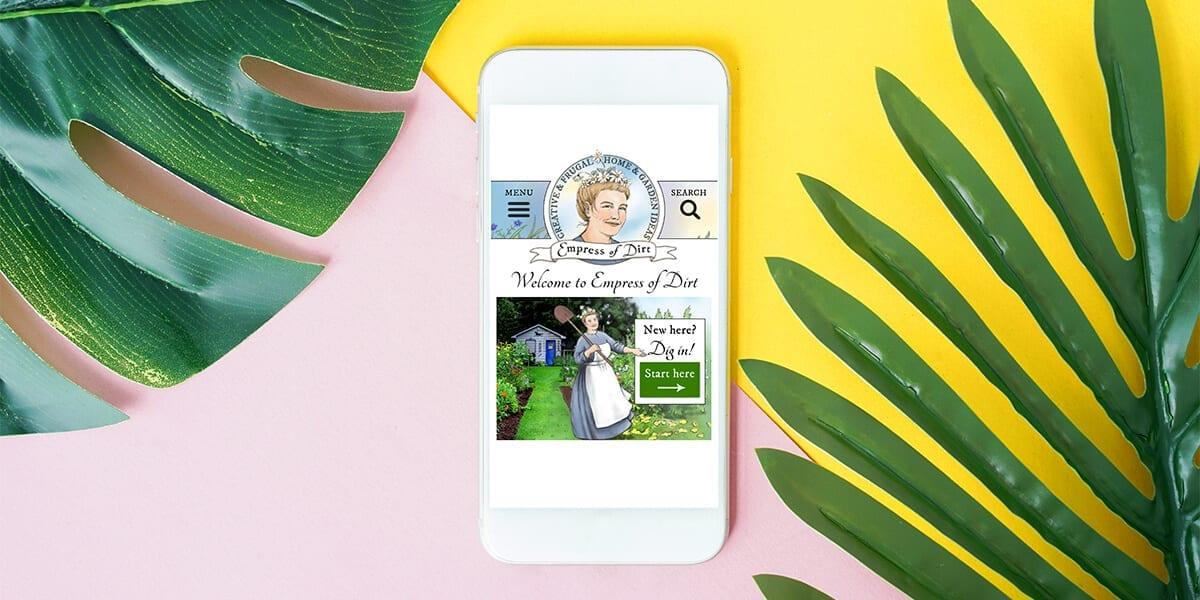 platt-hill-2021-garden-bloggers-influencers-empress-of-dirt-phone-leaves