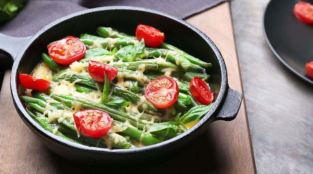 Fresh Green Beans and Tomatoes Recipe