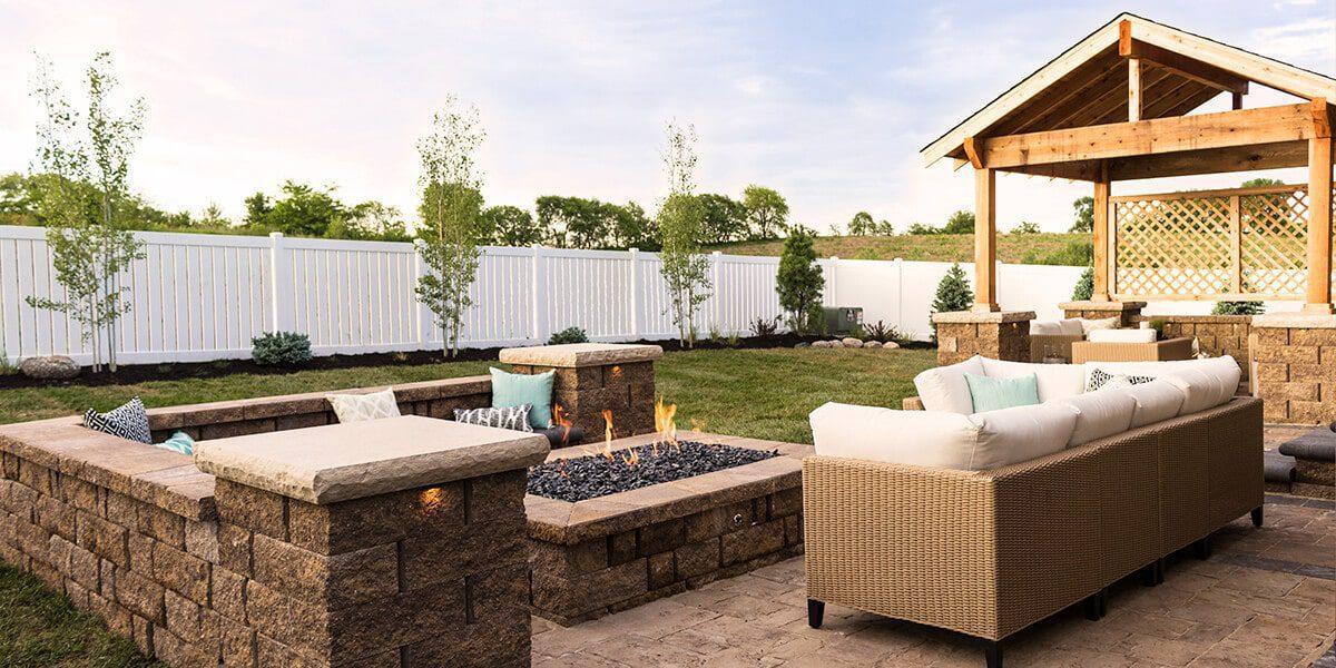 platt hill nursery transform landscape in stages patio furniture gazebo fireplace