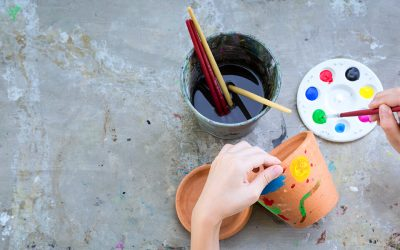 Turn Your Clay Pots into Works of Art