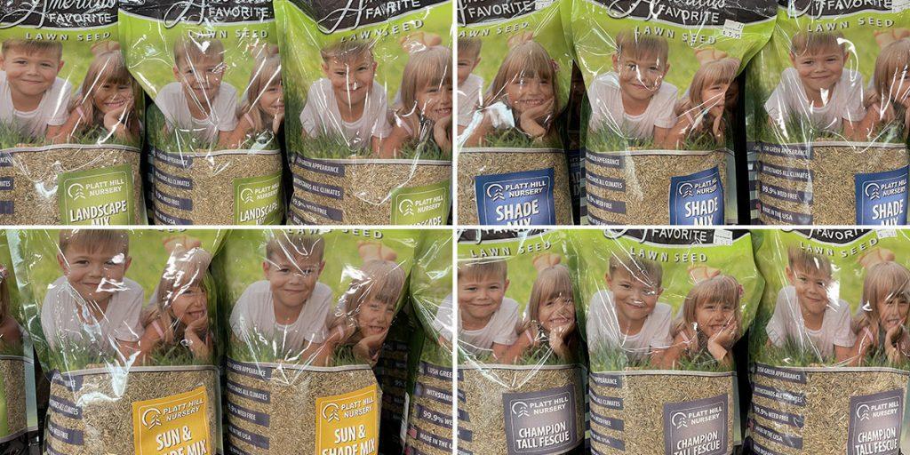 Platt Hill Nursery Branded Grass Seed